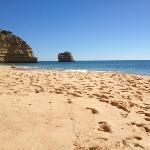 Beautiful Miranha beach