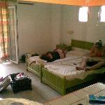 room, main double bed