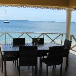 Dining area at Paradise Beach Hotel