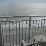 Ocean from 9th floor balcony
