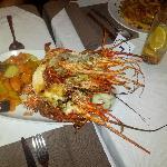Deliciosa lagosta!