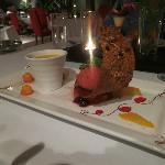 Brulee dessert