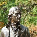 UPPER PORTION OF JEFFERSON STATUE