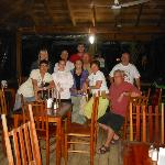 Group shot dining area