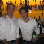 Adorable fun bartenders at Dressing Room