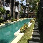 The Pool area..