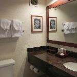 ちょっと狭いバスルーム