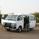 Tourist  are ready to go for Game drive at Miti Mingi Eco Camp