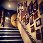 climb the stairway to (food/music) heaven