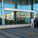 The Hotel Lobby Entrance