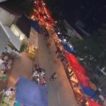 Night market - view from balcony