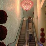 Elevator into lobby