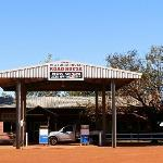 Victoria River Roadhouse's Famous Sign!