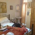 """So called """"boutique style"""" room as described on web site!"""