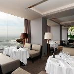 Vue intérieur du restaurant Cabestan Ocean View