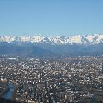 Torino e la Mole, vista dalla Cupola della Basilica di Superga