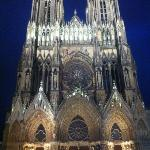 Cathedrale Notre-Dame de Reims, just a short walk away from my hotel :)