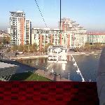 Blick nach Royal Victoria und Apartmens