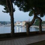 view along waters walkway