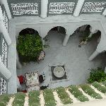 courtyard of Riad Mirage
