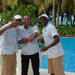 our friendly pool side wait staff