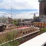View from the terrace of apartment 601