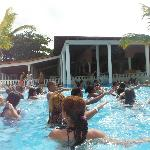 Pool Aerobics at Cofresi