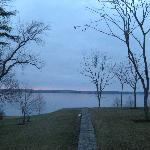 View of lake behind the Inn