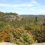 View from top of Natural Bridge