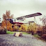 Un avion dans le parking :)