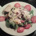 Mediterranean Salad: This picture does not do it justice