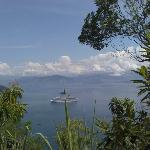 Llegando caminando a la isla tenemos esta vista increíble.