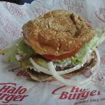 """Supreme"" 1/2 pound burger"