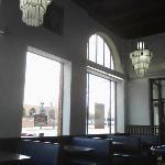 Front windows interior