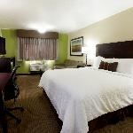 Deluxe King room. We are proud to be 100% smoke free.