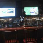 Bar area and TVs