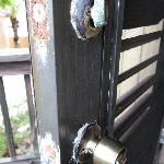 could not lock door