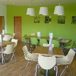 Cafe Paninis Interior Shot
