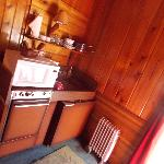 Sleeps Four Kitchen