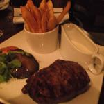 Hubby's Steak and Chips