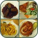 selezione di piatti offerti