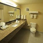 Spactious Bathrooms