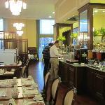 Wonderful dining room/buffet