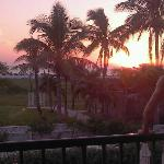 Great sunset from our room!