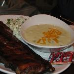 Rib Dinner with Soup $25.99