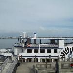 The ferry boat that takes you to Fort Sumter