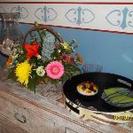 Habitación Azul: las flores y el pastel regalo de mi esposo por mi cumple!