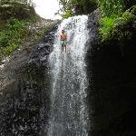 Waterfall jumping on the Lavena Coastal Walk!