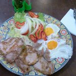 My 4 Euro breakfast near the hotel :)