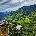 Punakha Valley from Uma Punakha